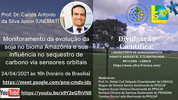 PALESTRA PROF. DR. CARLOS ANTONIO DA SIL