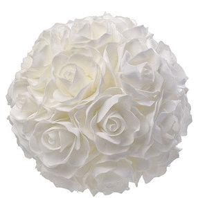 Boule de roses blanches 20 cm