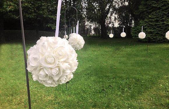 Boule de rose 20 cm
