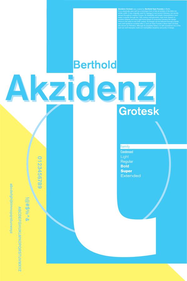 Akzidenz Grotesk Poster 2nd iteration_Pa