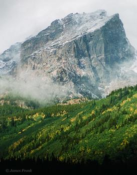 28 Hallett Peak in September Storm