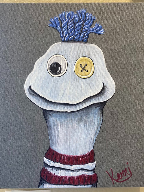 Gary the sock puppet