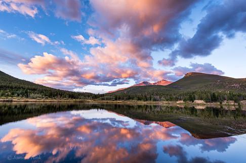Morning Bliss - Sunrise at Lily Lake