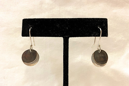Dangle Moon Earrings