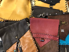 Donna Sena Keirns - Leather work