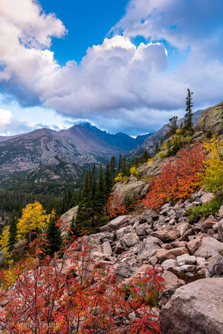299 Steep Color in RMNP