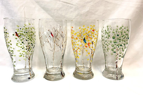 Seasonal Pilsner Glasses