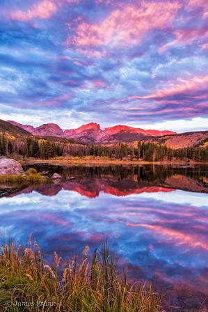 314 Sunrise Color on Sprague Lake