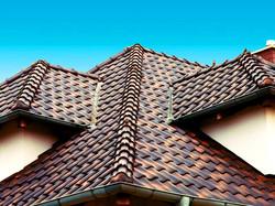 Крыша из керамочерепицы