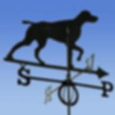 Флюгер на крышу GLORI ir Ko Собака
