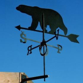 Флюгер GLORI ir Ko Медведь