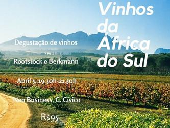 Degustação de vinhos da África do Sul