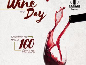 "Garage Vinhos promove ""Wine day"""