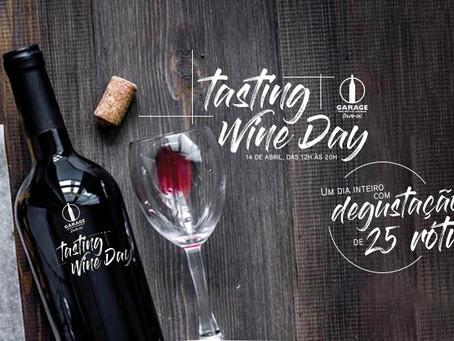 "Garage Vinhos promove ""Tasting Wine Day"""