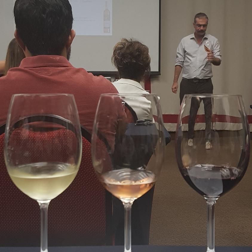 Palestra sobre vinhos do Douro