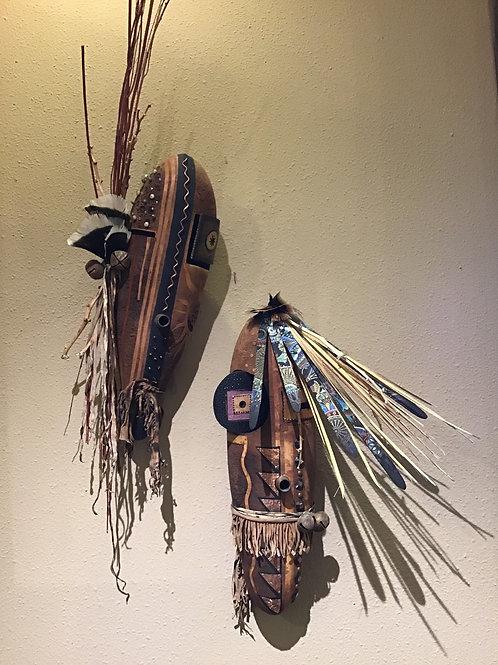 Contemporary Long Masks