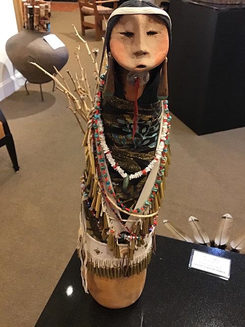 Apache Basket  Lady