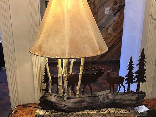 Elk Lamp