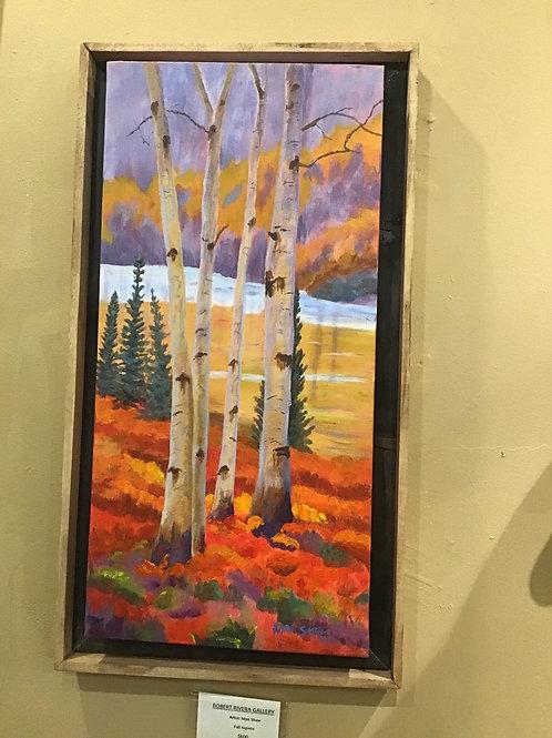 Fall Aspens by Mae Shaw