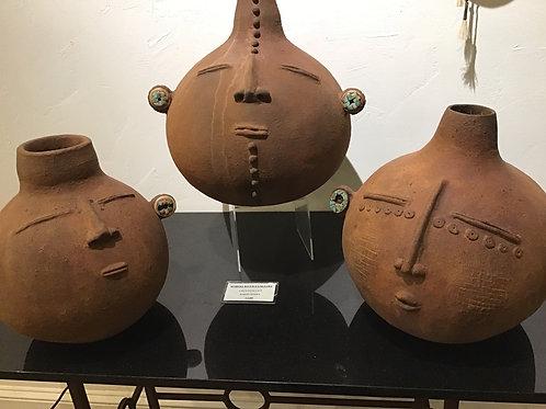 Large Effigy Pots
