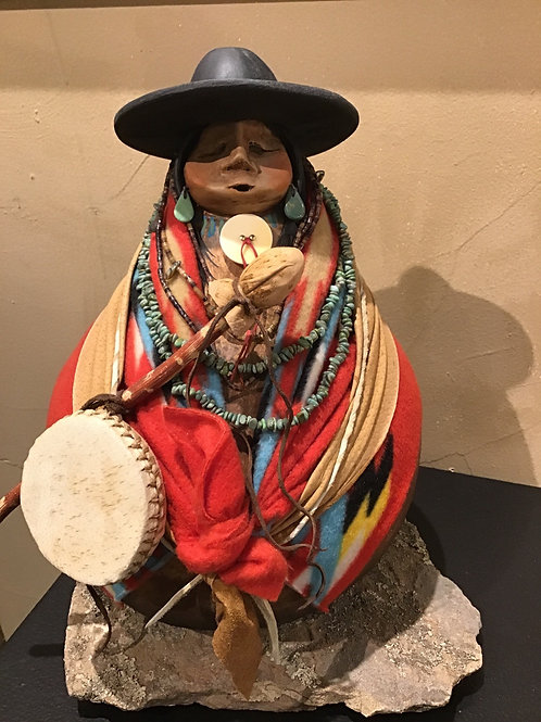 Navajo Drum Chanter