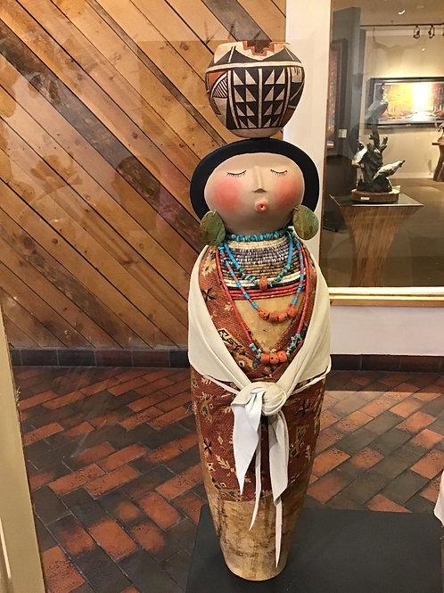 Acoma Pot Lady