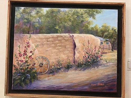 Acrylic Taos Wall by Mae Shaw
