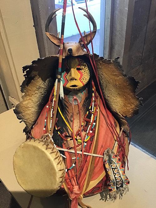 Red Apache Deer Chanter