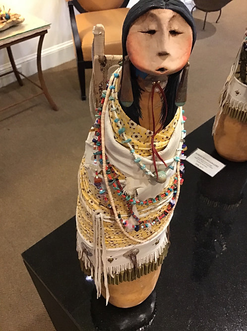 Apache Papoose Lady