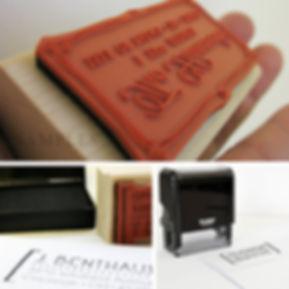 Personalized Return Address Stamp, Wood Mounted Address Stamp Sample, Self Inker, 2impress Shop, DIY Addressing, Housewarming Gifts