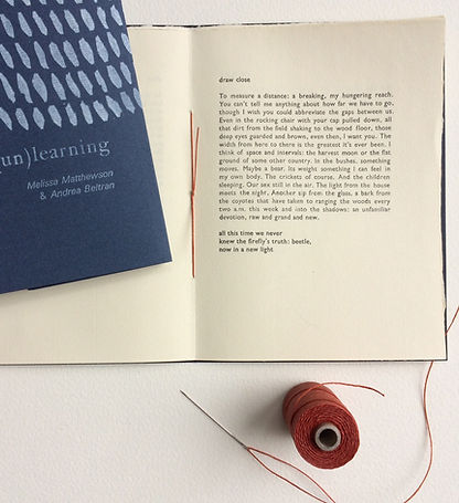 Artifact Press letterpress poetry