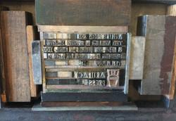 Artifact Press colophon