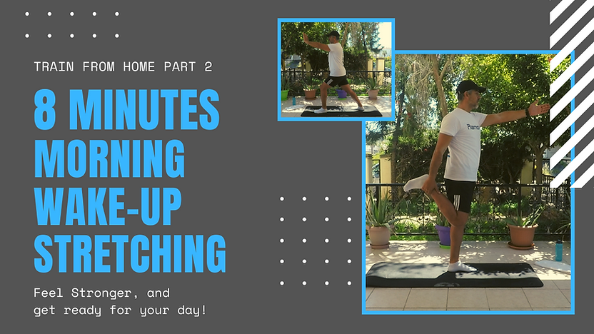 8 minutes morning Wake-up Stretching by