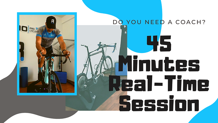 45 minutes Real-time Session
