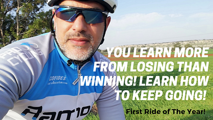 You learn more from losing than winning!
