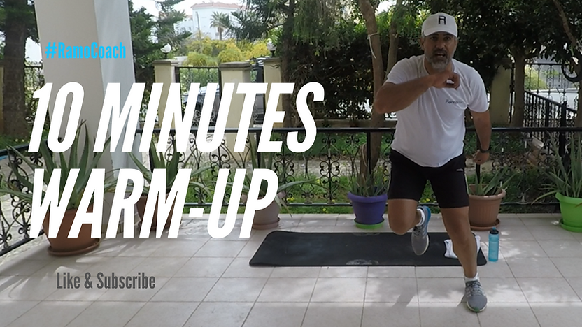10 Minutes warm-up Challenge by Ramo Coa