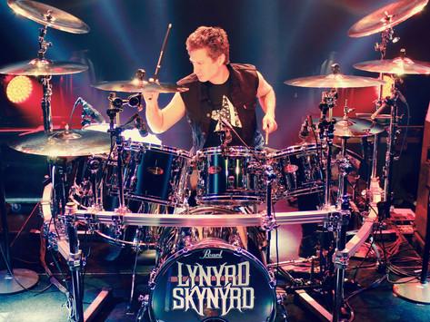 LYNYRD SKYNYRD'S DRUMMER MICHAEL CARTELLONE TALKS MUSIC, ART, AND THE FINAL TOUR EVER...