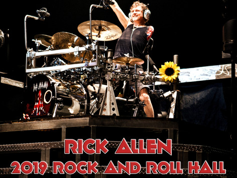 RICK ALLEN OF DEF LEPPARD TO APPEAR IN SOUTH FLORIDA AT WENTWORTH GALLERIES