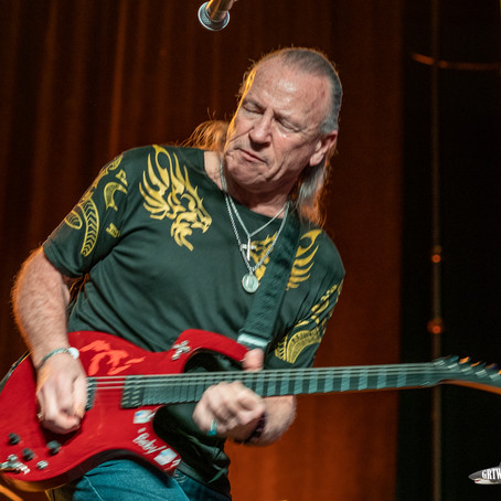 FULL OF STEAM & VIGOR, MARK FARNER'S AMERICAN BAND CHUGS INTO DANIA BEACH AND IS RIGHT ON TRACK...