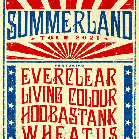 SUMMERLAND TOUR FEATURING HOOBASTANK & LIVING COLOUR COMES TO DELRAY BEACH THIS SUNDAY 7/23/21