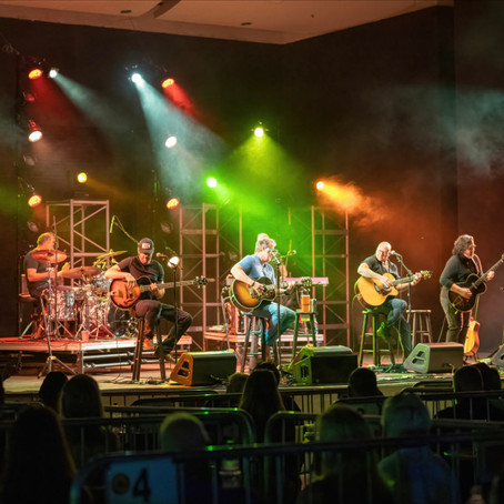 SISTER HAZEL PLAYS ONE OF THEIR FIRST SHOWS SINCE THE PANDEMIC IN DELRAY BEACH, FLORIDA 2021