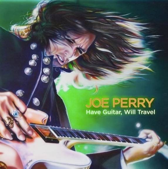 Douglas' Cover of Joe Perry's Album