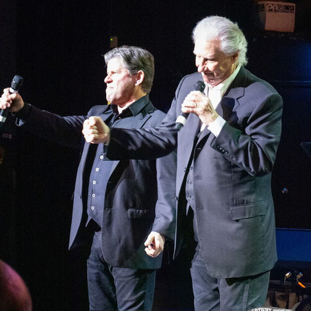 THE RIGHTEOUS BROTHERS PROVIDE SOUL & INSPIRATION AT LAST NIGHT'S CORAL SPRINGS PERFORMANCE...
