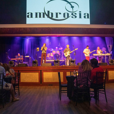 AMBROSIA ROCKS THE THEATER OF             KINGS AT GULFSTREAM PARK FOR TWO SHOWS PACKED WITH FANS
