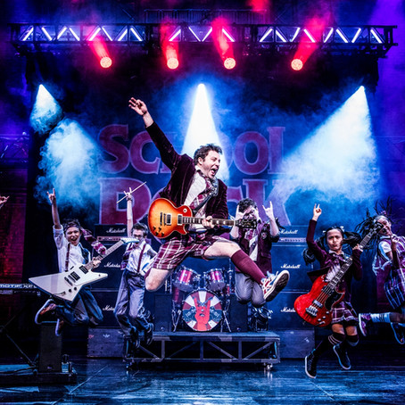 SCHOOL OF ROCK THE MUSICAL DOES JUST THAT... IT ROCKS!!!!