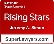 Jeremy Simon Super Lawyer Badge