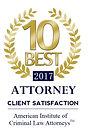 Top 10 Best Criminal Defense Attorney
