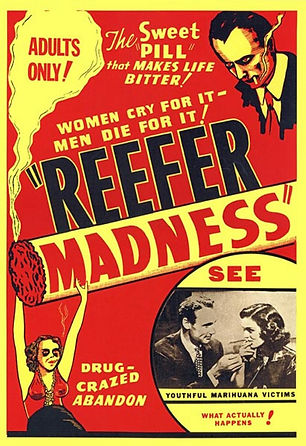 Movie poster for 1936 film Reefer Madness