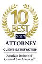 10 Best Criminal Defense Attorney