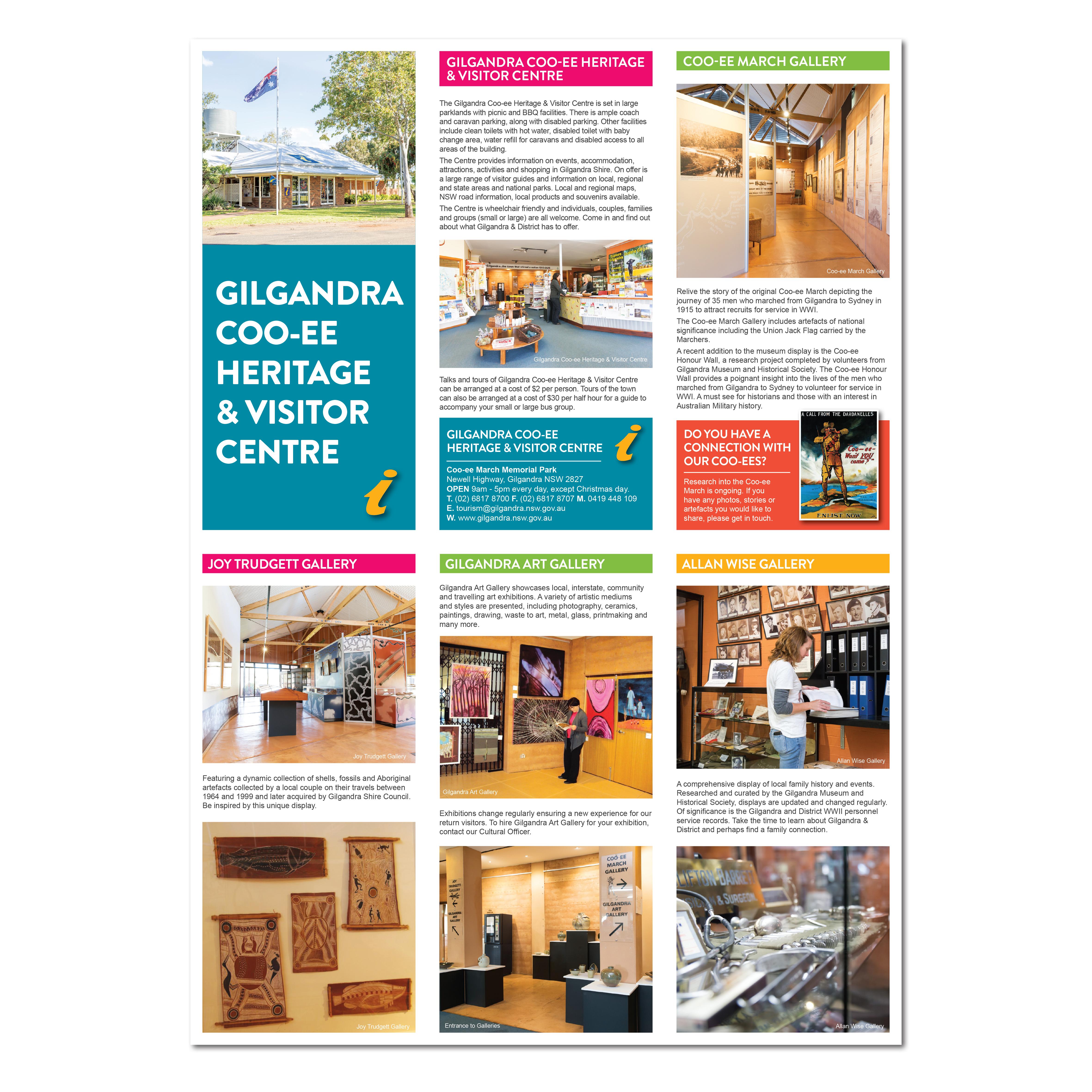 Gilgandra Heritage Centre Brochure